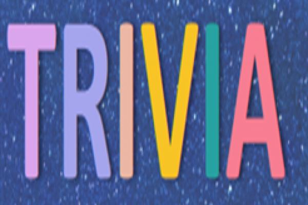 Trivia Night October 29th