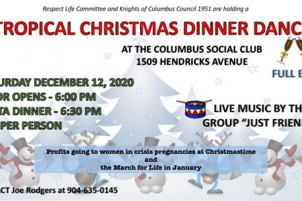 """Tropical Christmas"" Dinner Dance"