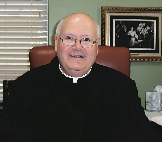 Our beloved retired pastor Fr. Fred Parke passed away this afternoon.