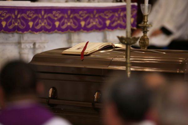 Fr. Fred's Funeral Arrangements